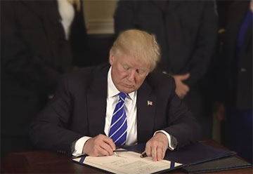 President Trump Signs TSP Modernization Act