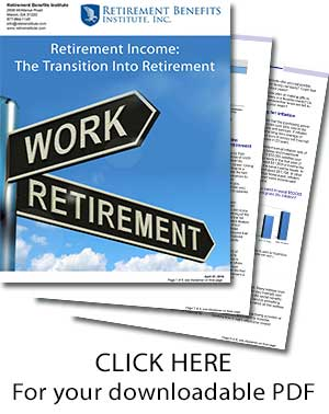 Retirement Income Transition Intro Retirement