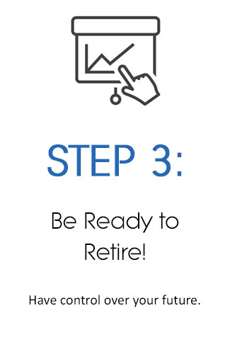 be ready to retire
